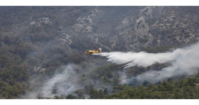 Rus itfaiye uçağı Türkiye'nin güneyinde düştü