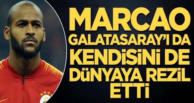 Hem kendini hem Galatasaray'ı rezil etti