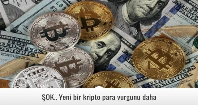 ŞOK.. Yeni bir kripto para vurgunu daha