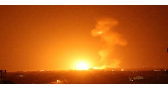 İsrail Gazze'deki Hamas sitelerini balonlarla bombaladı: askeri