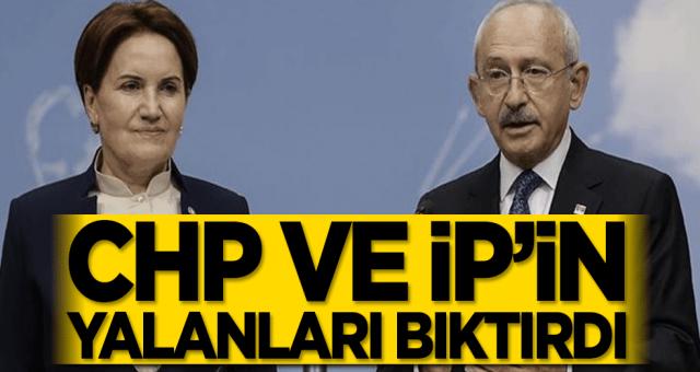 Yalan haberlerinin üretim merkezi CHP ve ip hala yalanlarını duzeltmediler