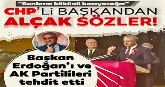 Seçimle yenemedikleri Erdoğan ve Ak parti'yi tehdit etmeye basladilar