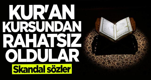 Atatürkçü düşünce derneği Okulda Kur'an öğretilmesinden rahatsız olup skandal açıklama yaptı.