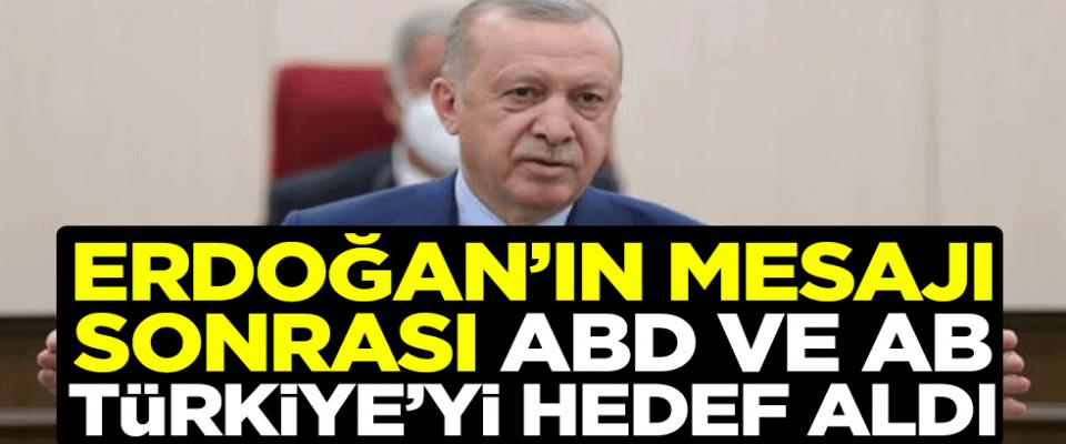 Başkan Erdoğan açıkladı ABD ve İngiltere saldırıya geçti