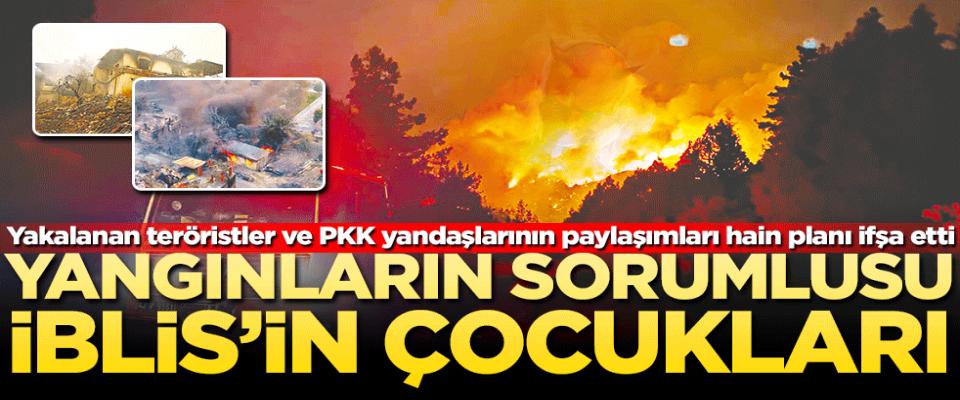 İblisin çocukları Türkiye'yi yakarken legal destekçilerinden ses çıkmıyor
