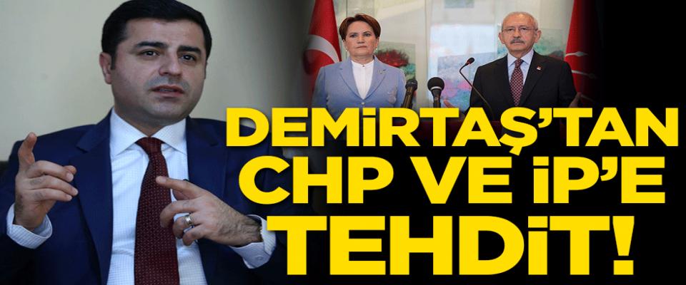Terörist Demirtaş'tan ortaklarına tehdit gibi mesaj