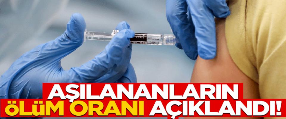 Koruyuculuğu tartışılan aşıların ölüm oranları açıklandı