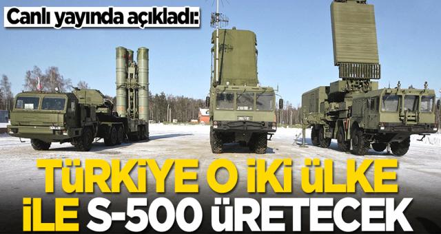 Doğu Perinçek: Türkiye, iki ülke ile S-500 üretecek