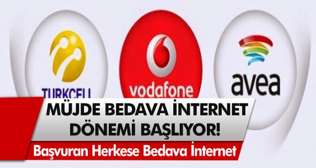 Son Dakika: Bedava İnternet Dönemi Başladı! Başvuran Herkese 10 GB'a Kadar Bedava İnternet Dağıtılacak…