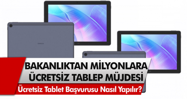 Milli Eğitim Bakanlığı duyurdu Tablet alamayanlar için son şans! Ücretsiz tablet başvurusu nasıl yapılır?