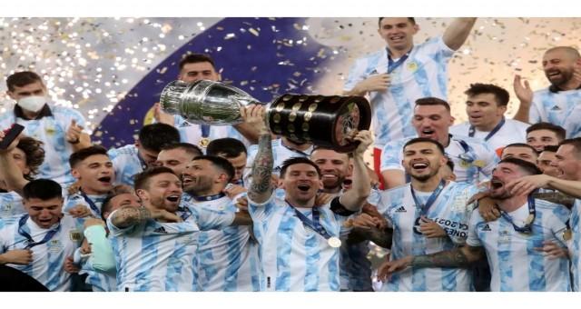 Arjantin, Brezilya'yı 1-0 yenerek Copa America'yı kazandı.